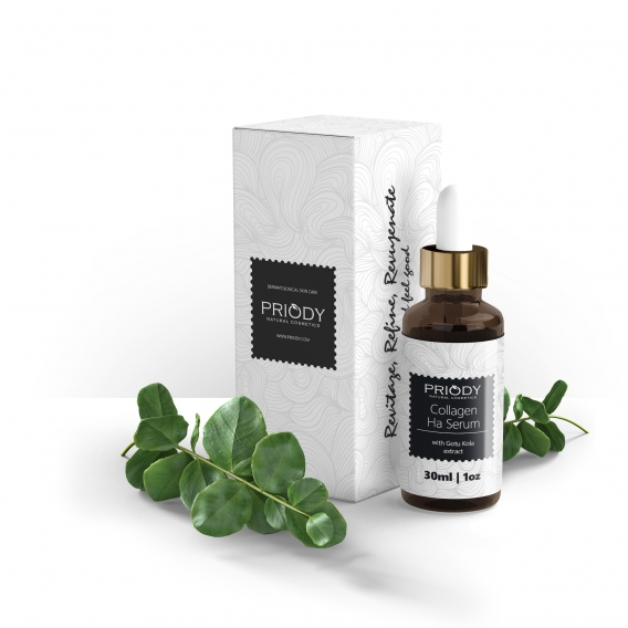 PRIODY | Collagen + HA serum with Gotu Kola extract