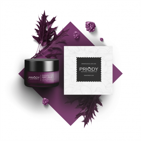 PRIODY | Regeneration Night Cream with purified snail extract