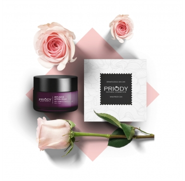 PRIODY - Anti-aging lifting cream with Collagen & Hyaluronic acid