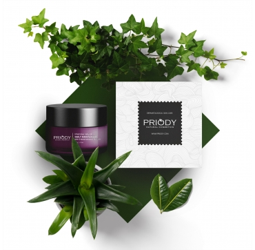 PRIODY - Intensive natural daily moisturizer with 12 herbal extracts & Vit. C 15%